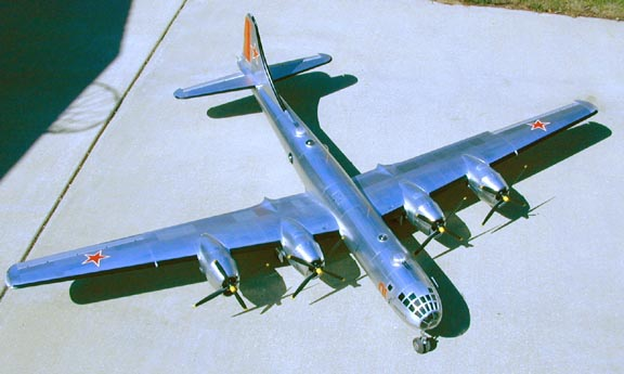 ¿Un B-29? ¡No, es el Tupolev Tu-4, la copia soviética!