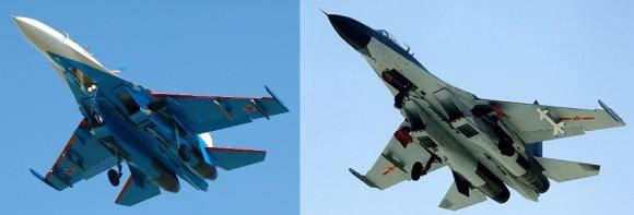 Moscú se ha quejado de que el J-11B es una copia pirata del Su-27SK ruso.