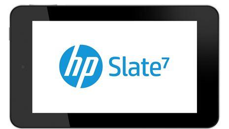 Slate 7, la androaventura de HP