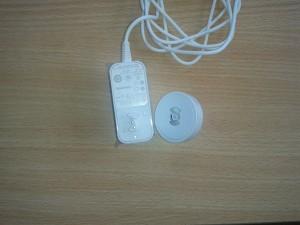 Sistema de conexión del adaptador a la fuente.
