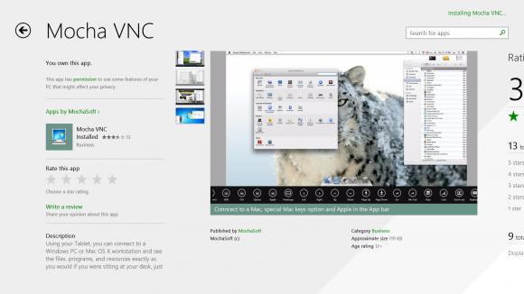 Trabaja en tu Mac desde tu Surface RT.