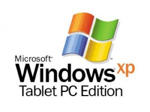 Splash de Windows XP Tablet PC Edition