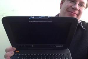 Webcam de la netbook Conectar Igualdad