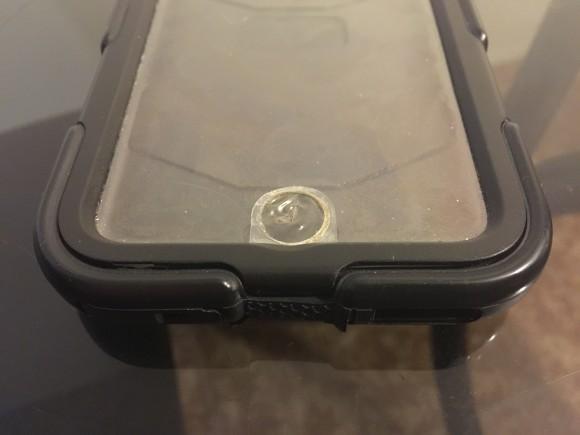Membrana transparente del botón Home